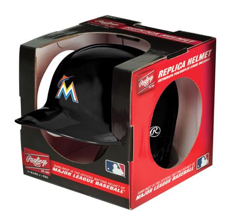 Miami Marlins MLB Rawlings Replica MLB Baseball Mini Helmet