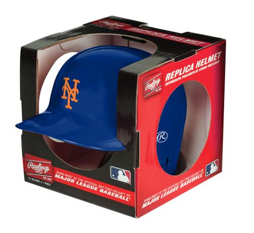 New York Mets MLB Rawlings Replica MLB Baseball Mini Helmet