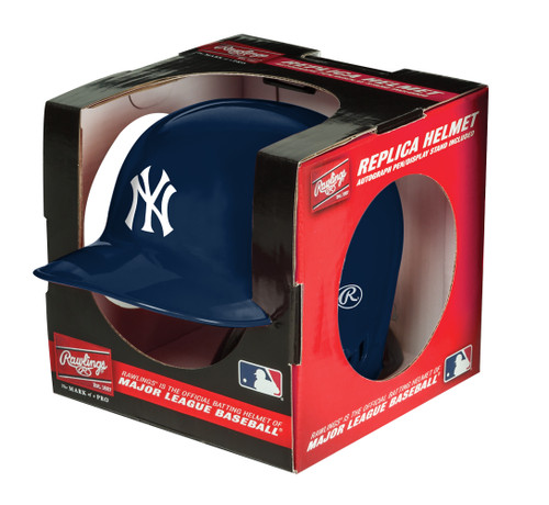 New York Yankees MLB Rawlings Replica MLB Baseball Mini Helmet