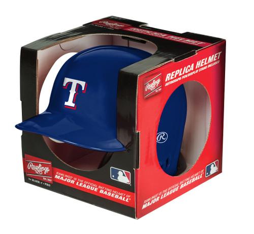 Texas Rangers MLB Rawlings Replica MLB Baseball Mini Helmet