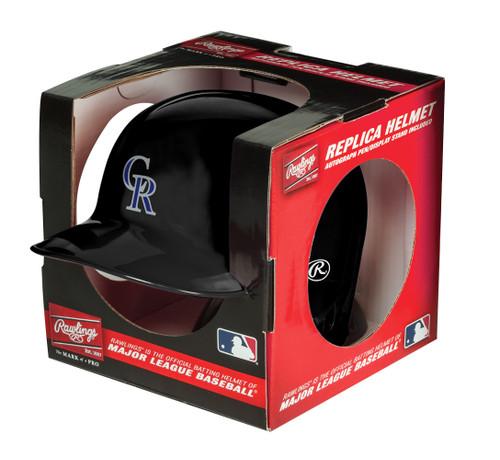 Colorado Rockies MLB Rawlings Replica MLB Baseball Mini Helmet