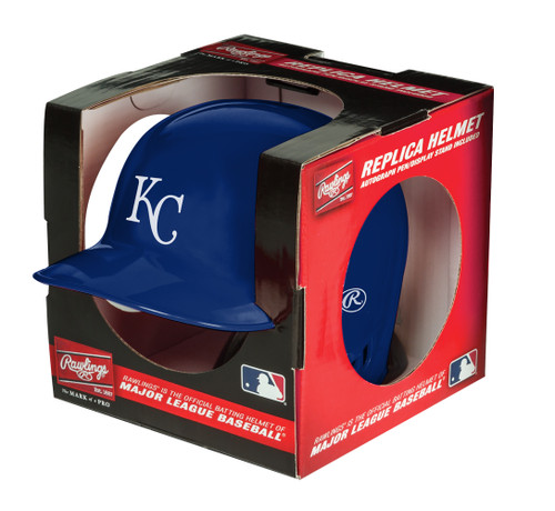 Kansas City Royals MLB Rawlings Replica MLB Baseball Mini Helmet