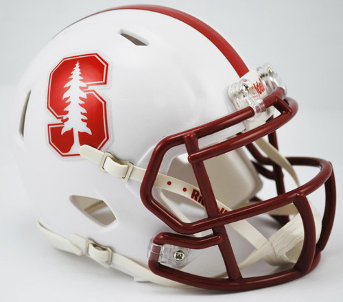 Stanford Cardinals Alternate 2015 NCAA Riddell SPEED Mini Helmet