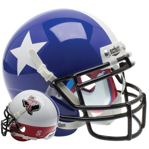 Texas Tech Red Raiders Alternate PRIDE Schutt Mini Authentic Football Helmet