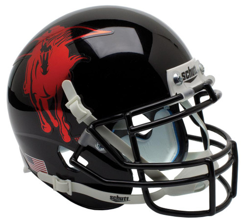 Texas Tech Red Raiders Alternate MASKED RIDER Schutt Mini Authentic Football Helmet