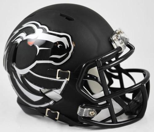 Boise State Broncos Black Revolution SPEED Mini Helmet