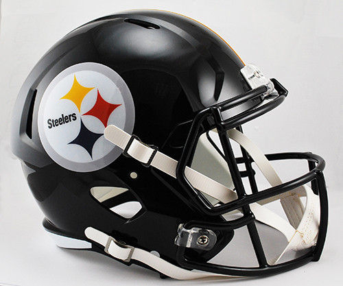 Pittsburgh Steelers SPEED Riddell Full Size Replica Helmet