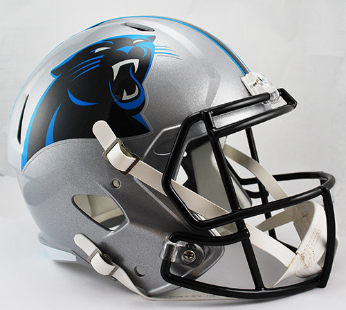 Carolina Panthers SPEED Riddell Full Size Replica Helmet
