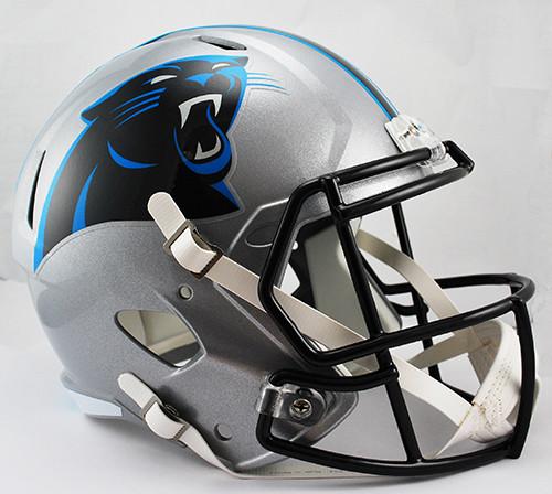 Carolina Panthers SPEED Riddell Full Size Replica Helmet