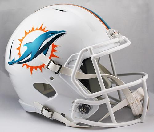 Miami Dolphins SPEED Riddell Full Size Replica Helmet