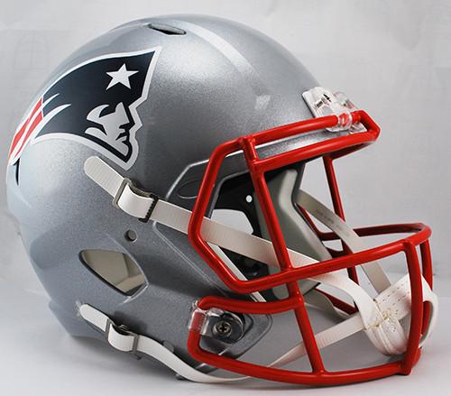 New England Patriots SPEED Riddell Full Size Replica Helmet