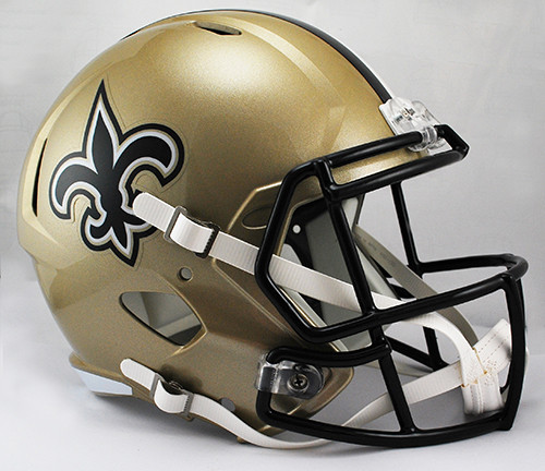 New Orleans Saints SPEED Riddell Full Size Replica Helmet