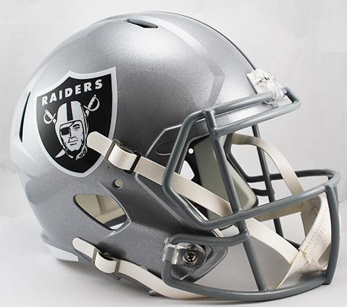 Las Vegas Raiders SPEED Riddell Full Size Replica Helmet