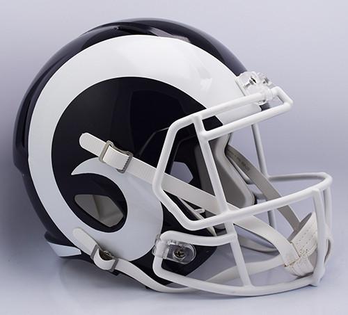 Los Angeles Rams SPEED Riddell Full Size Replica Helmet - 2017 Logo