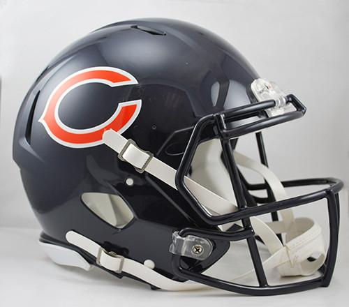 Chicago Bears NEW Riddell Full Size Authentic SPEED Helmet