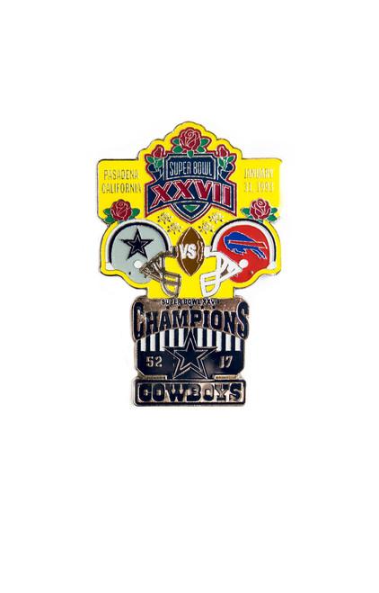 Super Bowl XXVII (27) Commemorative Lapel Pin
