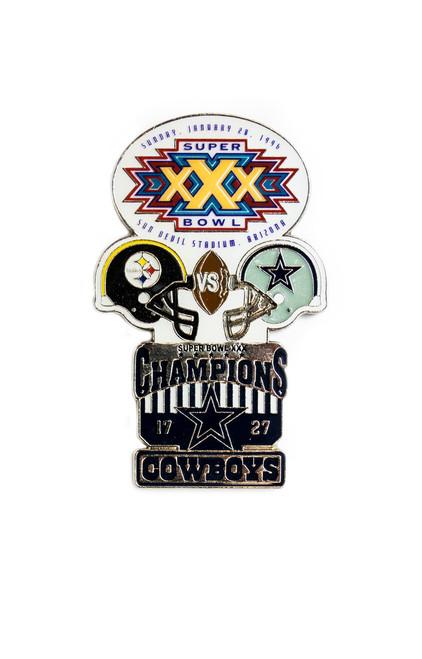 Super Bowl XXX (30) Commemorative Lapel Pin