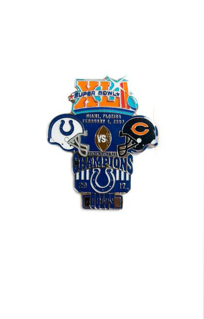 Super Bowl XLI (41) Commemorative Lapel Pin