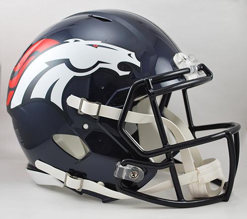 Denver Broncos NEW Riddell Full Size Authentic SPEED Helmet