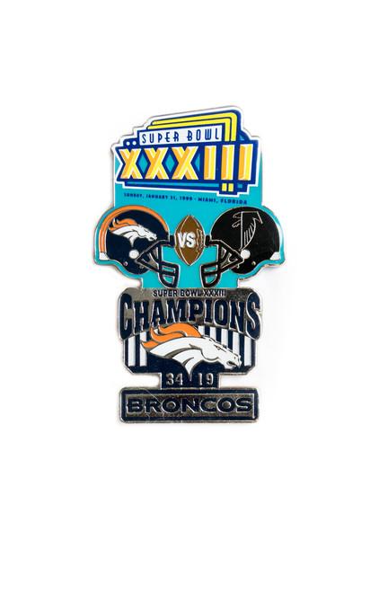 Super Bowl XXXIII (33) Commemorative Lapel Pin