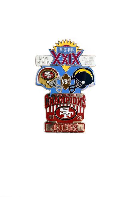 Super Bowl XXIX (29) Commemorative Lapel Pin