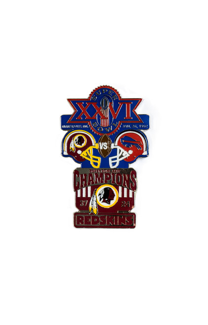 Super Bowl XXVI (26) Commemorative Lapel Pin