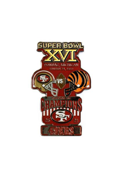Super Bowl XVI (16) Commemorative Lapel Pin