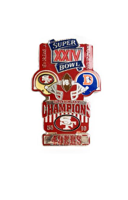 Super Bowl XXIV (24) Commemorative Lapel Pin