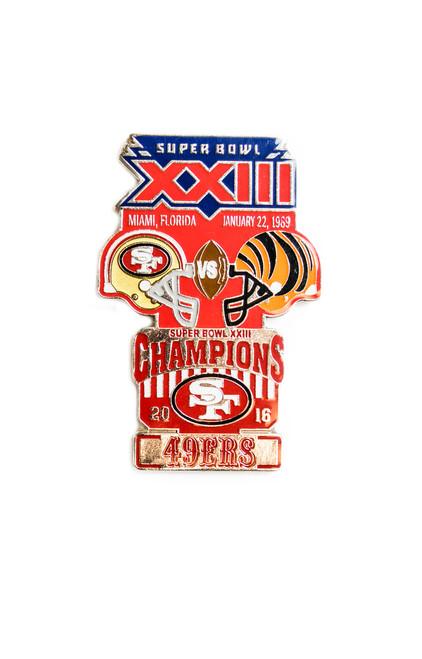 Super Bowl XXIII (23) Commemorative Lapel Pin