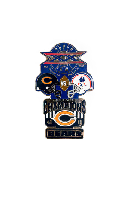Super Bowl XX (20) Commemorative Lapel Pin
