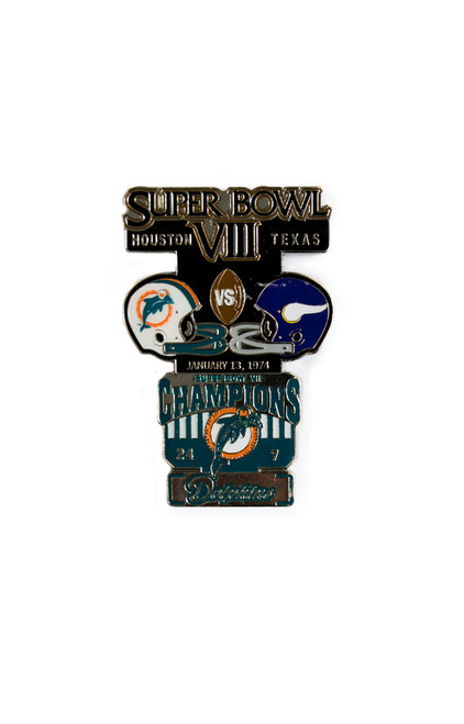 Super Bowl VIII (8) Commemorative Lapel Pin