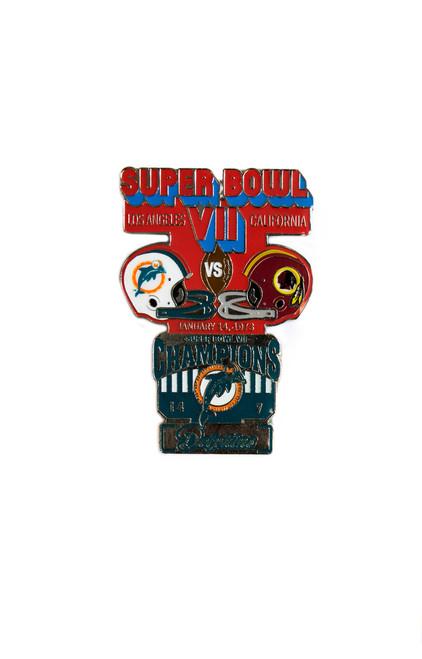 Super Bowl VII (7) Commemorative Lapel Pin