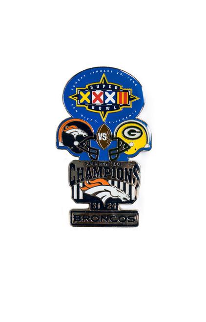Super Bowl XXXII (32) Commemorative Lapel Pin