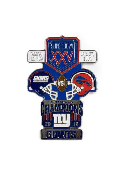 Super Bowl XXV (25) Commemorative Lapel Pin