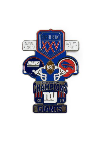 Super Bowl XXV (25) Commemorative Lapel Pin
