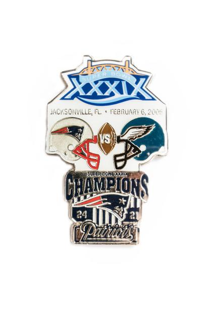 Super Bowl XXXIX (39) Commemorative Lapel Pin