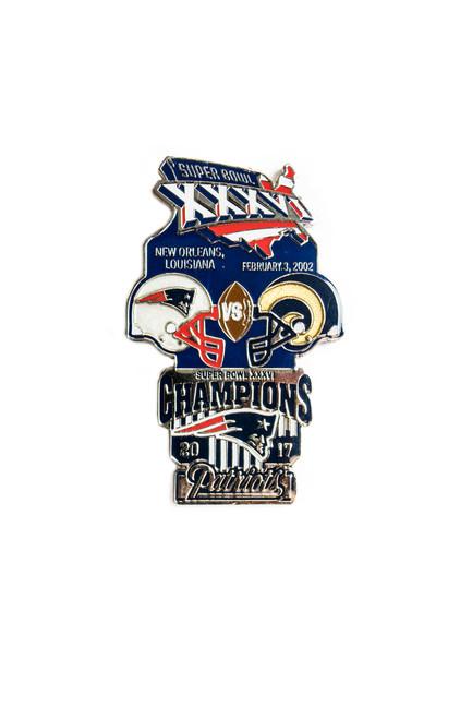 Super Bowl XXXVI (36) Commemorative Lapel Pin