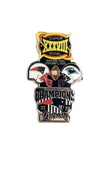 Super Bowl XXXVIII (38) Commemorative Lapel Pin