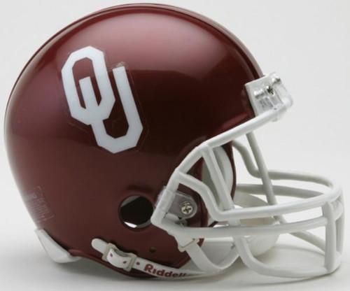 Oklahoma Sooners NCAA Riddell Mini Helmet