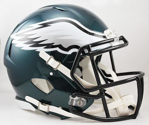 Philadelphia Eagles NEW Riddell Full Size Authentic SPEED Helmet