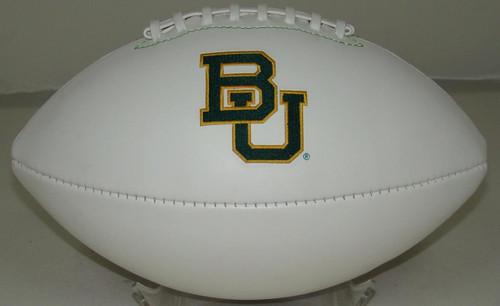 Signature Series NCAA Baylor Bears Autograph Full Size Football