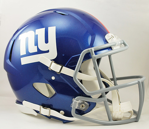 New York Giants NEW Riddell Full Size Authentic SPEED Helmet