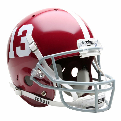 Alabama Crimson Tide #13 Schutt Full Size Replica XP Football Helmet