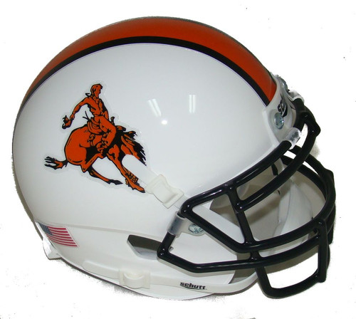 Oklahoma State Cowboys Bucking Cowboy Schutt Mini Authentic Football Helmet