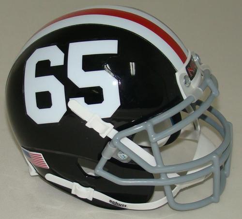 Northern Illinois Huskies Alternate 50th Anniversary #65 Schutt Mini Authentic Football Helmet