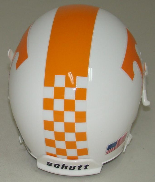 Tennessee Volunteers Alternate Checker Schutt Mini Authentic Football Helmet