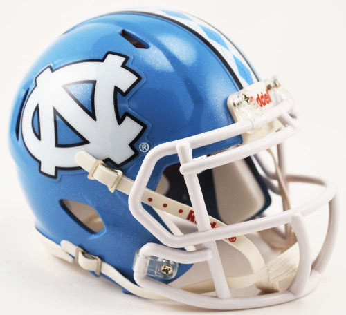 North Carolina Tar Heels 2015 NCAA Riddell SPEED Mini Helmet