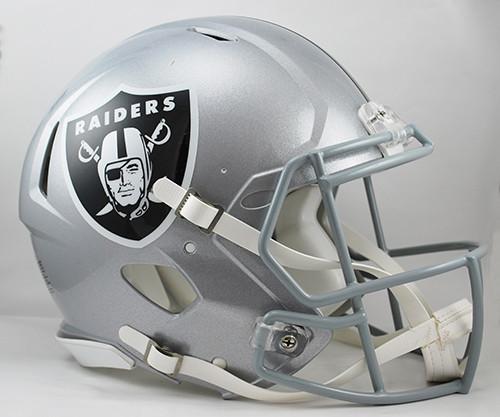 Las Vegas Raiders NEW Riddell Full Size Authentic SPEED Helmet