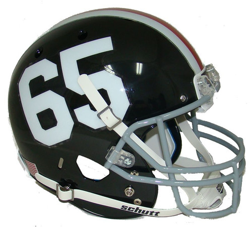 Northern Illinois Huskies Alternate 50th Anniversary #65 Schutt Full Size Replica XP Football Helmet