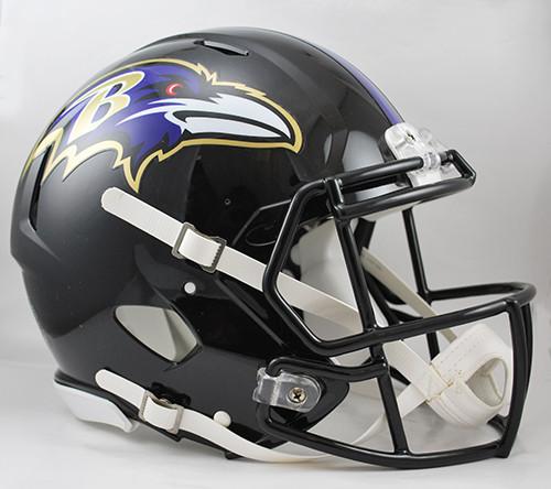 Baltimore Ravens NEW Riddell Full Size Authentic SPEED Helmet